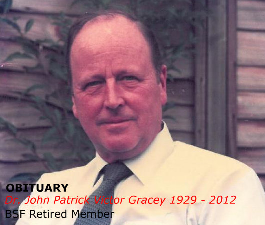 John Gracey obituary